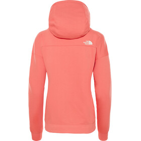 The North Face Light Drew Peak Hoodie Women Spiced Coral